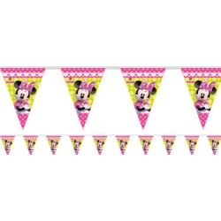 Disney Minnie Mouse Party Flag Banner