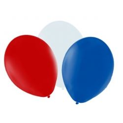 Red White & Blue Party Balloons