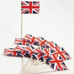 Great Britain Party Union Jack Buffet Picks