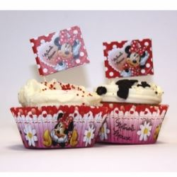 Minnie Mouse Party Cup Cake Kit