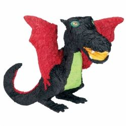 Black Dragon Party Pinata