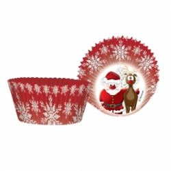 Christmas Party Cup Cake Cases
