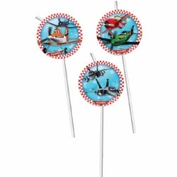 Disney Planes Party Straws