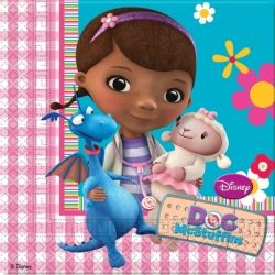 Doc McStuffins Party Napkins