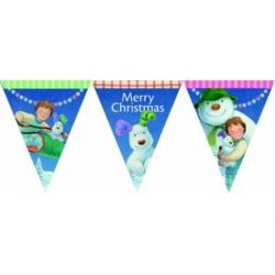 The Snowman and Snowdog Party Banner