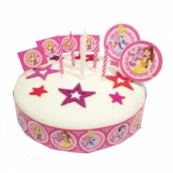 Princess Sparkle Cake Decorating Kit