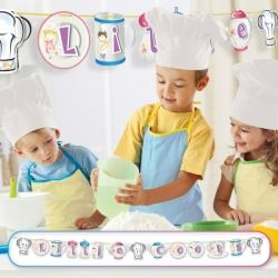 Little Cooks Pop Up Party Banner