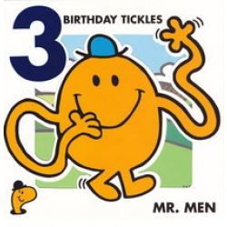 Mr Men Birthday Cards Age 3
