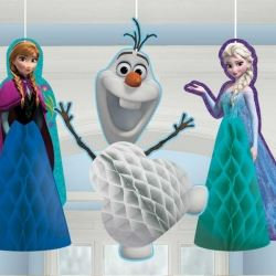 Disney Frozen Honeycomb Party Decorations