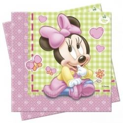 Disney Baby Minnie Mouse Party Napkins
