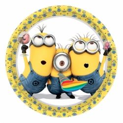 Minions Party Plates