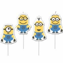 Despicable Me Minions Party Candles