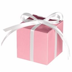 Light Pink Party Favour Treat Boxes