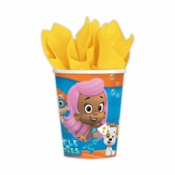 Bubble Guppies Party Cups