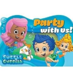 Bubble Guppies Party Invitations