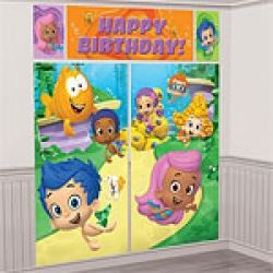 Bubble Guppies Party Scene Setter