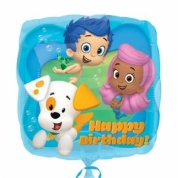 Bubble Guppies Party Foil Balloon