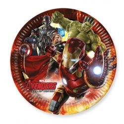 Avengers Age Of Ultron Party Plates