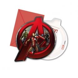 Avengers Age Of Ultron Party Invitations