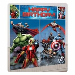 Marvel Avengers Happy Birthday Party Scene Setter
