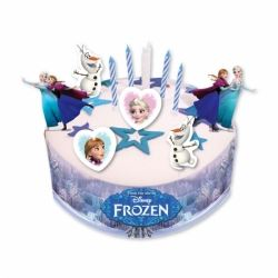 Frozen Cake Decoration Party Kit