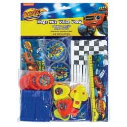 Blaze And The Monster Machines Party Favour Mega Pack