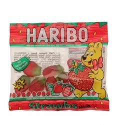 Party Sweets Haribo Mini Strawberries