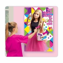 Barbie Sparkle Pin The Bow Party Game