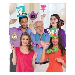 Mad Hatters Tea Party Photo Booth Prop Pack