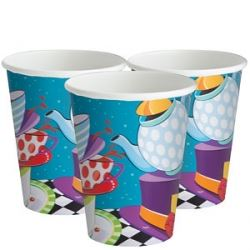 Mad Hatters Tea Party Cups