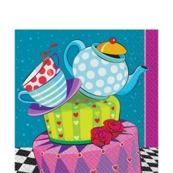 Mad Hatters Tea Party Napkins