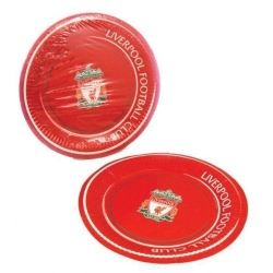 Liverpool Football Club Party Plates