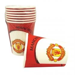 Manchester United Football Club Party Cups