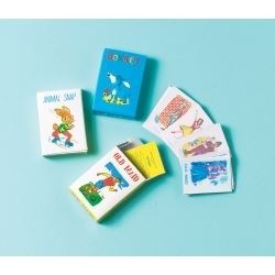 Party Favour Mini Card Games PK 4