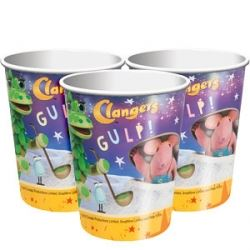 The Clangers Party Cups
