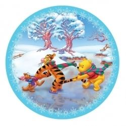 Winnie The Pooh & Friends Party Christmas Plates