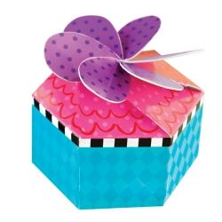 Mad Hatters Tea Party Favour Boxes
