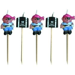 Lovely Chubblies Candles - Pirate