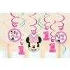 Disney Minnie Mouse Fun To Be One Party Swirls