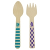 Mad Hatter Tea Party Mini Wooden Cutlery