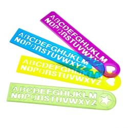 Alphabet Rulers Party Favours