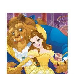 Disney Beauty And The Beast Party Napkins