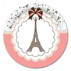 A Day In Paris Party Plates