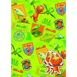 Dinosaur Train Party Gift Wrap And Tags