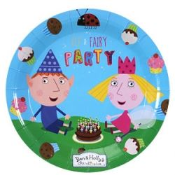 Ben And Holly Magic Kingdom Party Plates