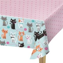Purr-fect Party Tablecover