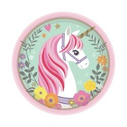 Magical Unicorn Party Lunch Plates