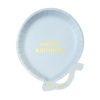 We Love Balloons Blue Party Plates