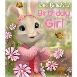 Peter Rabbit Birthday Girl Card