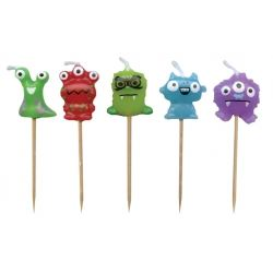 Lovely Chubblies Candles - Monsters